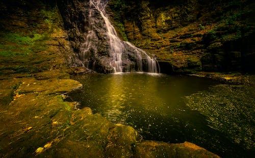 Základová fotografie zdarma na téma fotografie přírody, krajina, malebný, mechem obrostlé kameny