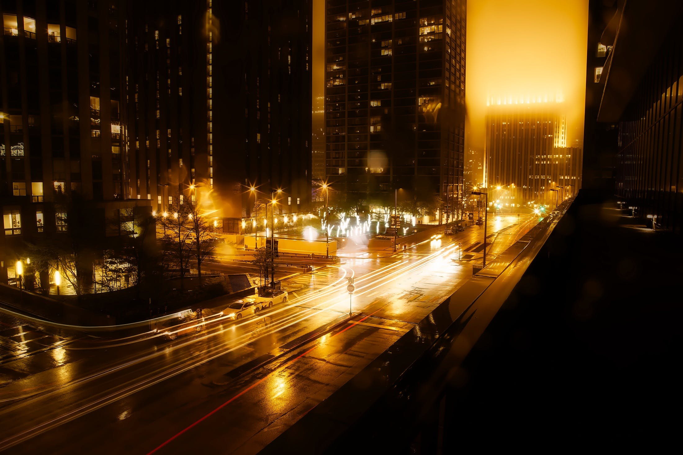 architecture, blur, buildings