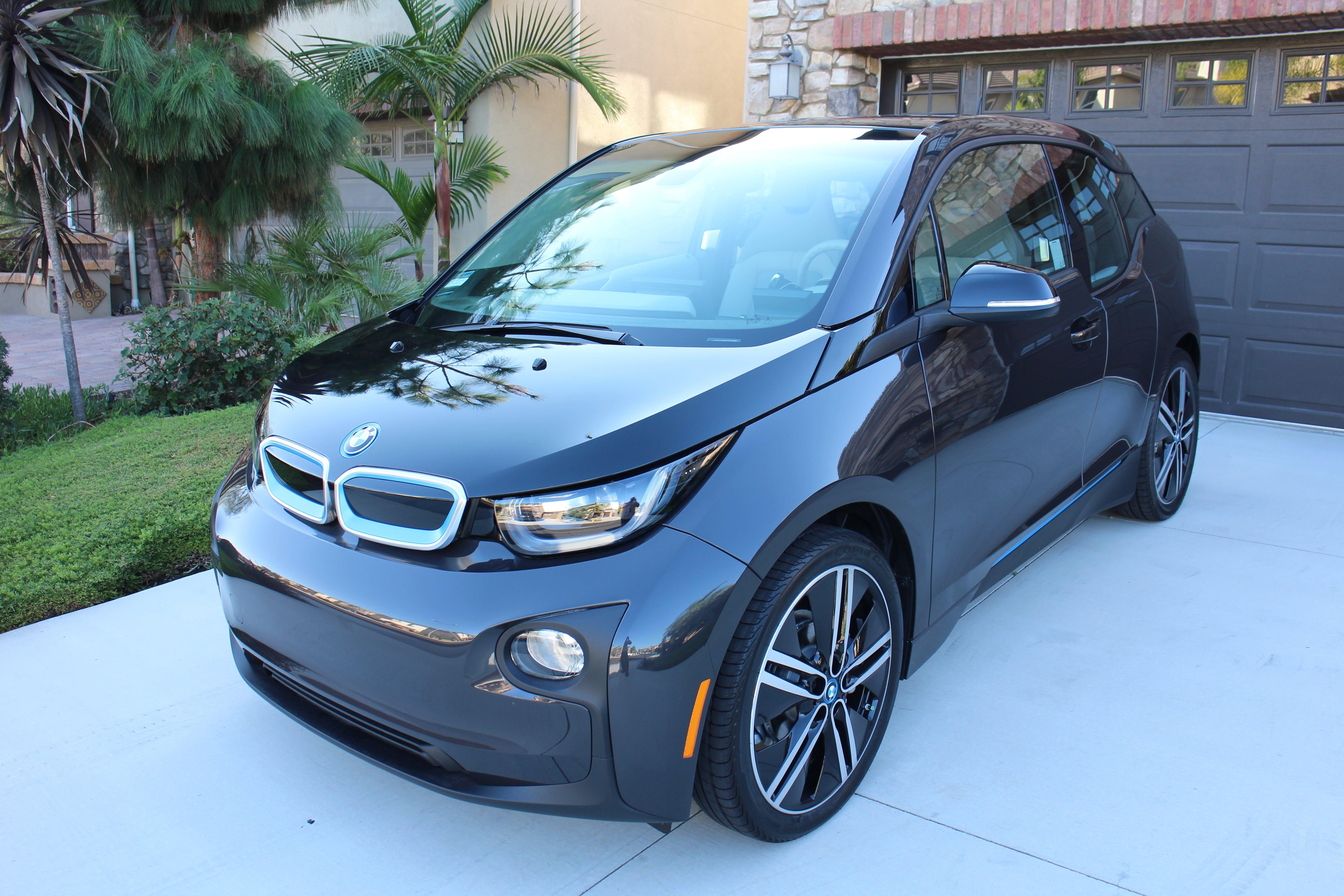 Free stock photo of car, sedan, electric, BMW