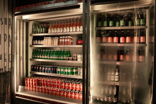 Free stock photo of coca-cola, cool, decor, fridge