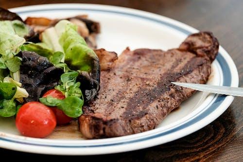 Fotos de stock gratuitas de bistec, carne, cena, comida