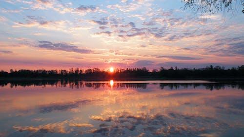 反射, 天性, 天空, 太陽 的 免費圖庫相片