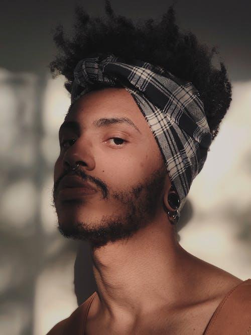 Man Wearing Bandana