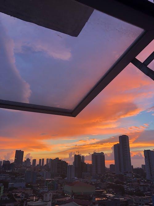 Ảnh lưu trữ miễn phí về bầu trời, bình minh, bóng, các tòa nhà