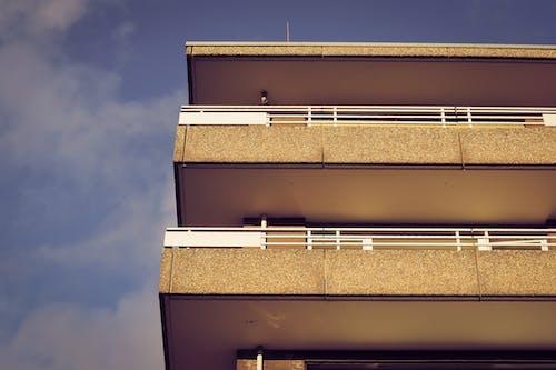 低角度拍攝, 外觀, 廣告, 建築 的 免费素材照片