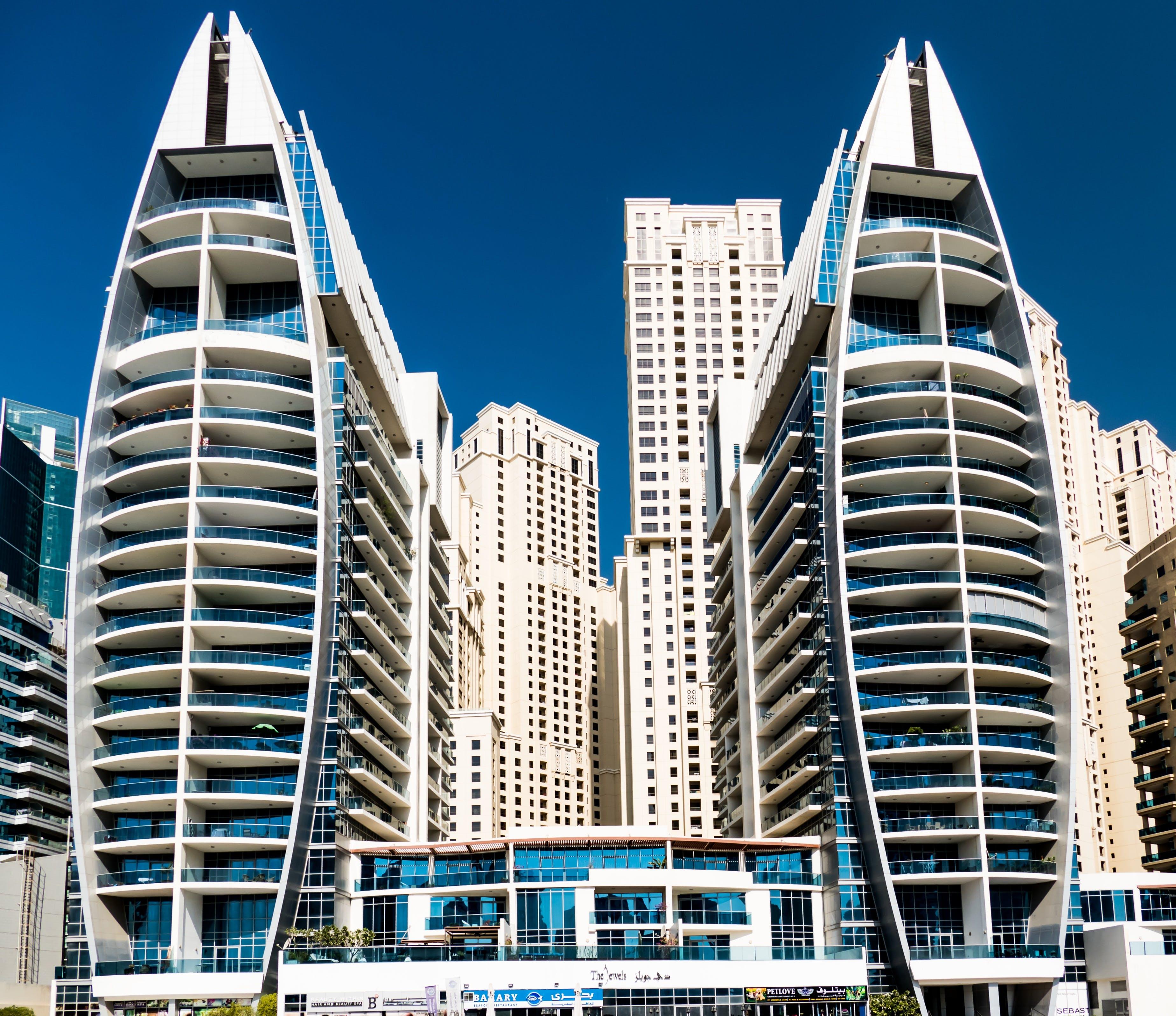 Free stock photo of skyscrapers, architecture, modern, skyscraper