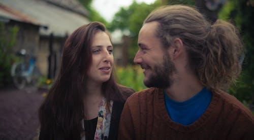 Free stock photo of couple, love, smile