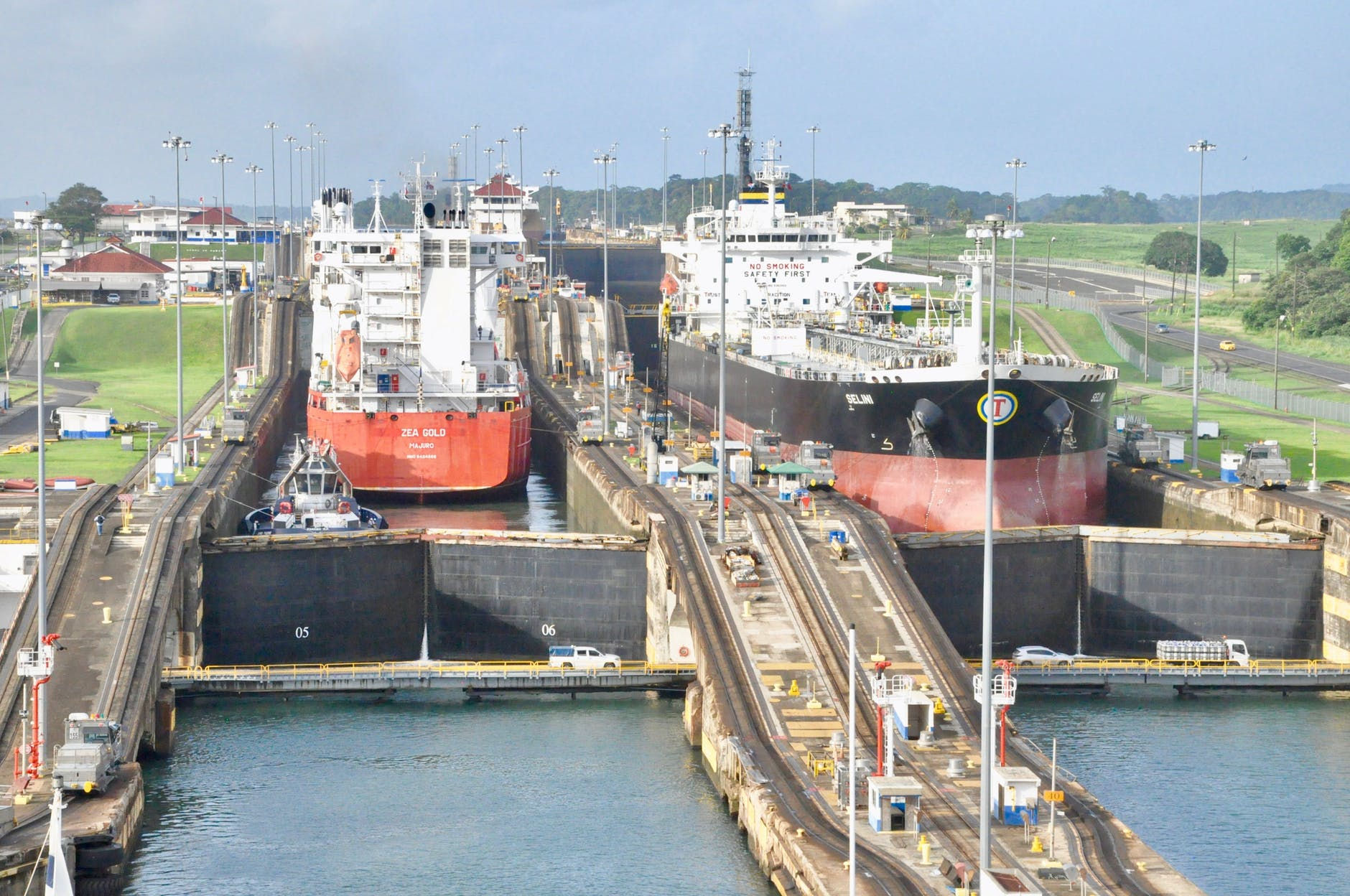 The largest ocean liners pay a $250,000 toll for each trip through the Panama Canal. The canal generates fully one-third of Panama's entire economy.