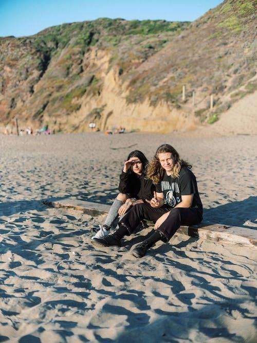 Man and Woman Near Shore