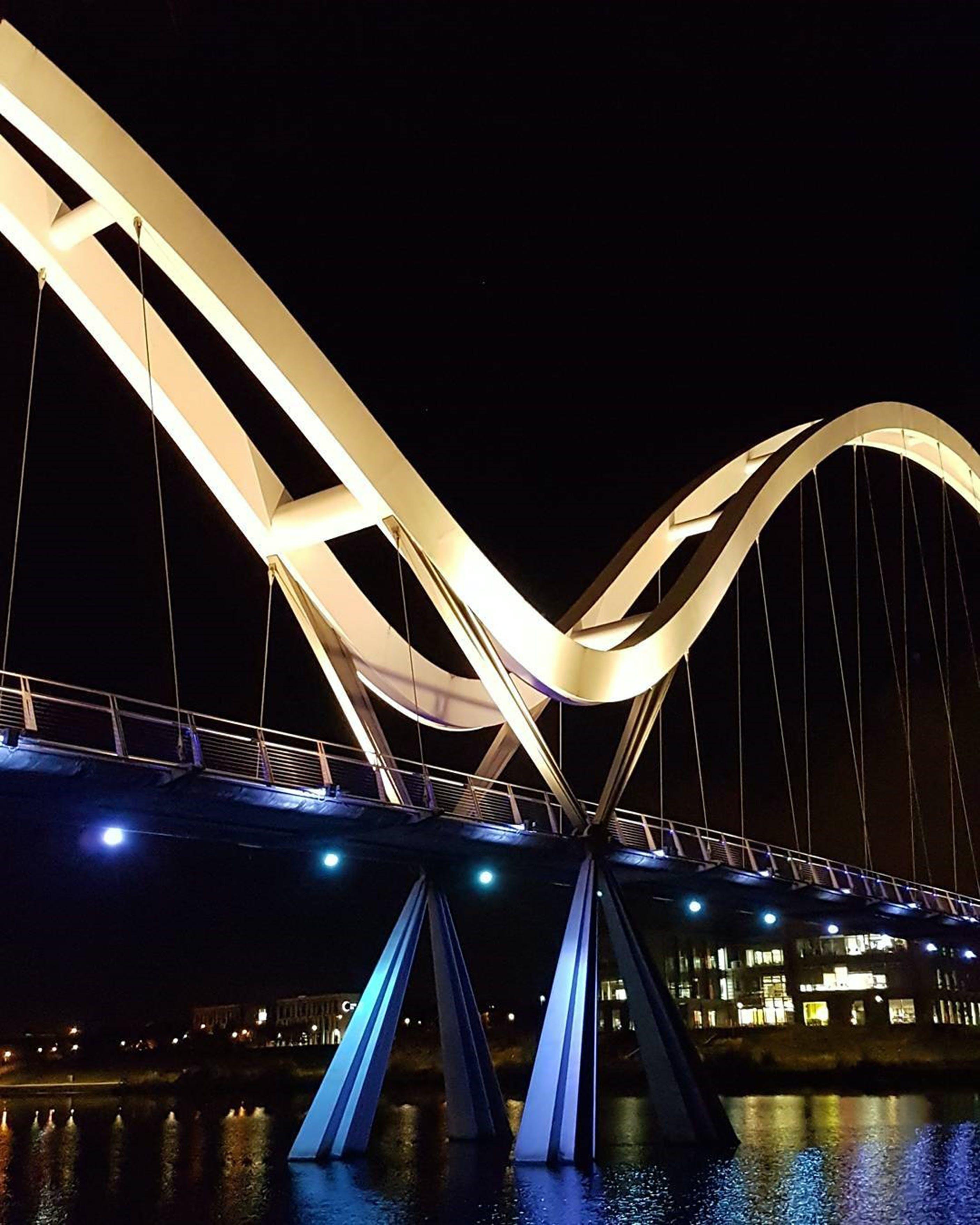 Photography of Beige Arc Bridge