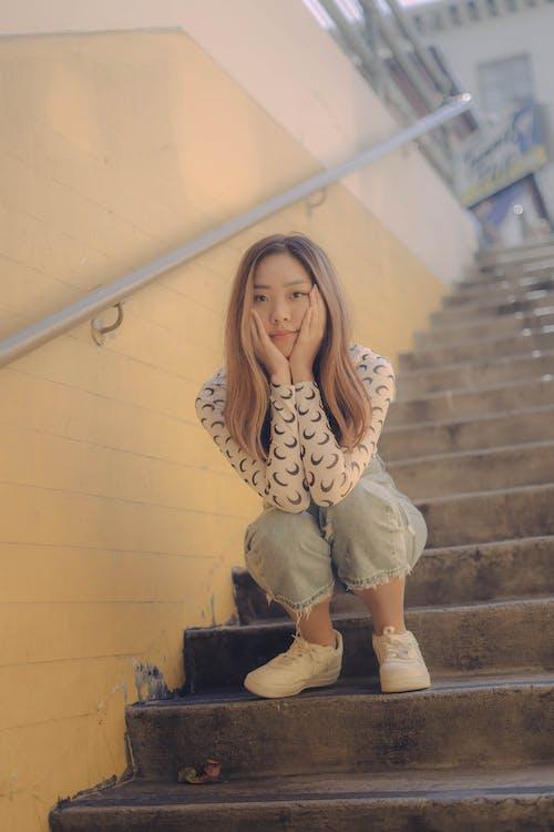 Gratis stockfoto met amerika, Aziatische vrouw, fashion, fotomodel