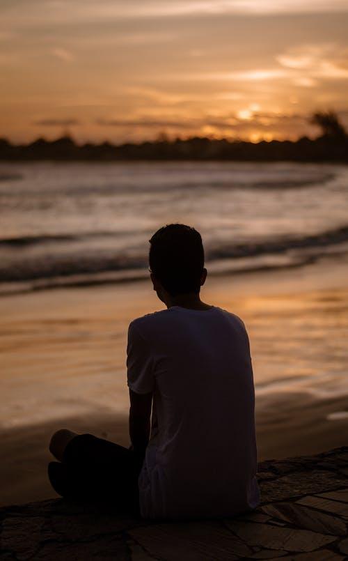 Безкоштовне стокове фото на тему «rj, Захід сонця, пляж»