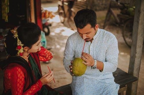 Imagine de stoc gratuită din băut, cuplu, cuplu asiatic, femeie