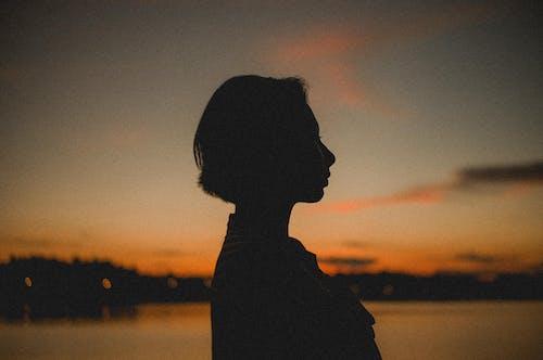 人, 休閒, 光鮮亮麗, 剪影 的 免費圖庫相片
