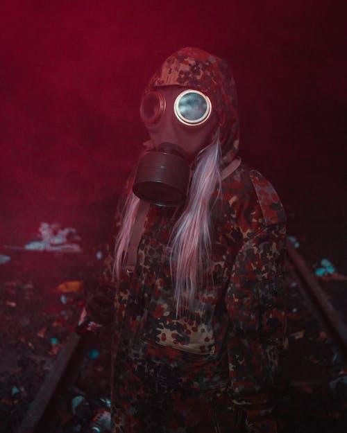 Foto d'estoc gratuïta de apocalipsi, màscara de gas, militar, retrats