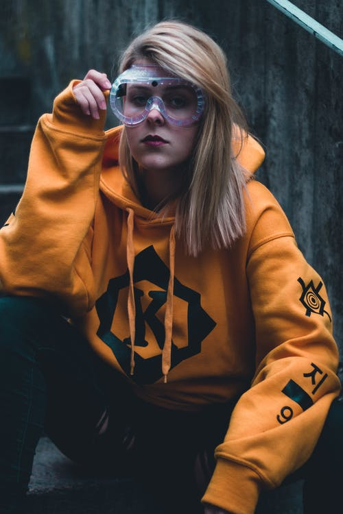 Photo Of Woman Wearing Hoodie