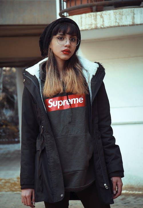 Photo Of Woman Wearing Supreme Shirt