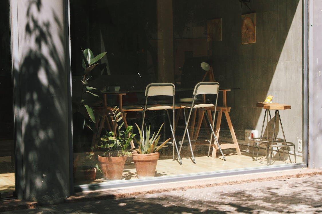 außen, beton, bürgersteig
