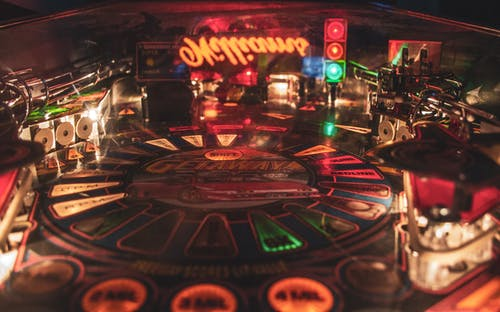 Free stock photo of arcade, entertainment, lights, machines
