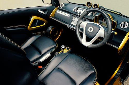 Immagine gratuita di fotografia del veicolo, interni auto, sedili in pelle, smart brabus