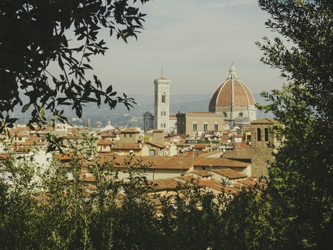 Free stock photo of city, landscape, italy, view