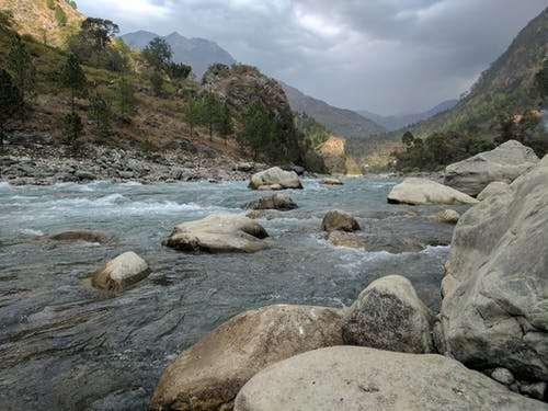 Free stock photo of Ganga, mountains, natural