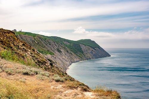 Photos gratuites de à flanc de colline, bord, bord de l'océan, bord de la falaise