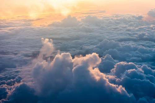4k 桌面, 和平的, 多雲的, 天性 的 免费素材照片