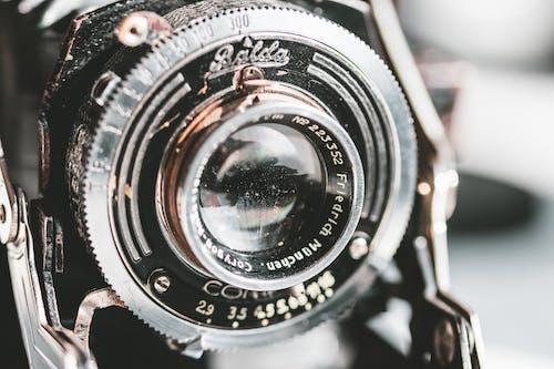 Бесплатное стоковое фото с chrome, Аналоговый, Антикварный, видоискатель