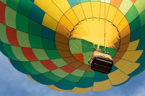 Low-Angle Photo of Hot Air Balloon