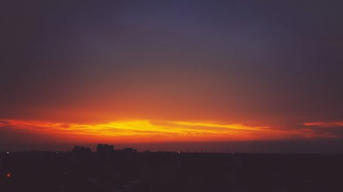 Fotobanka sbezplatnými fotkami na tému sky view, svitanie, západ slnka