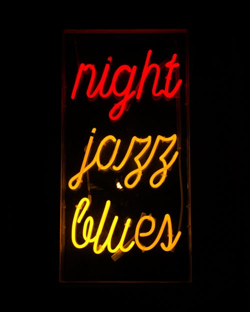 Night Jazz Blues Neon Signage