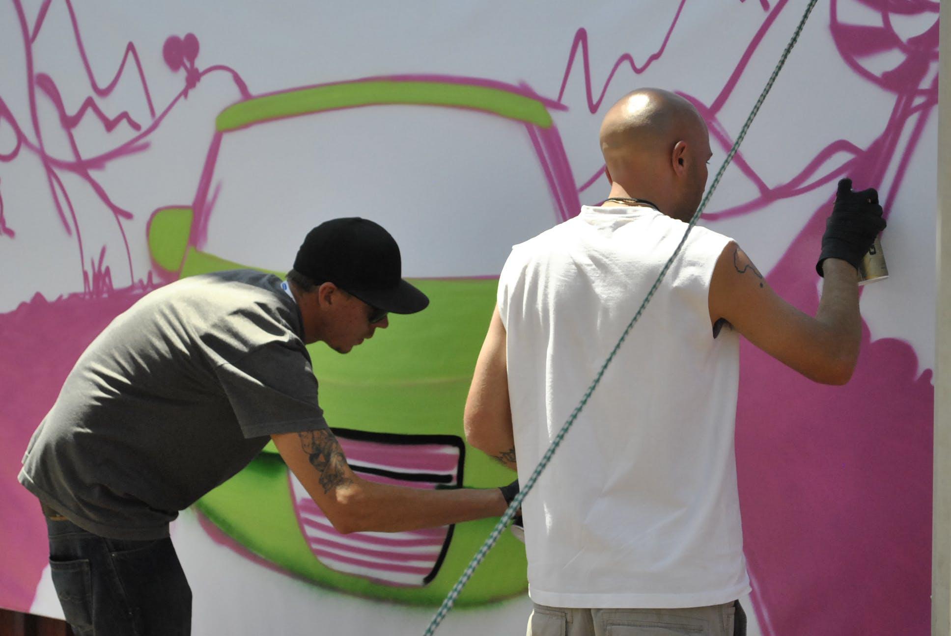 artists, graffiti, graffitti