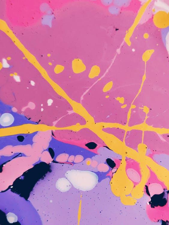 4k achtergrond, 4k bureaublad, abstract expressionisme