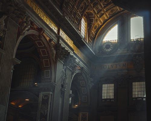 Fotobanka sbezplatnými fotkami na tému architektúry, bazilika svätého petra, cestovať, chrám