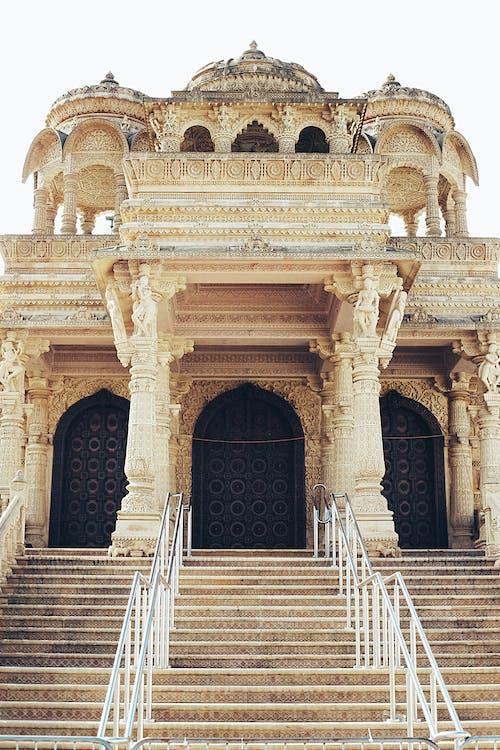 Бесплатное стоковое фото с Архитектурное проектирование, индуистский храм, классический, старый