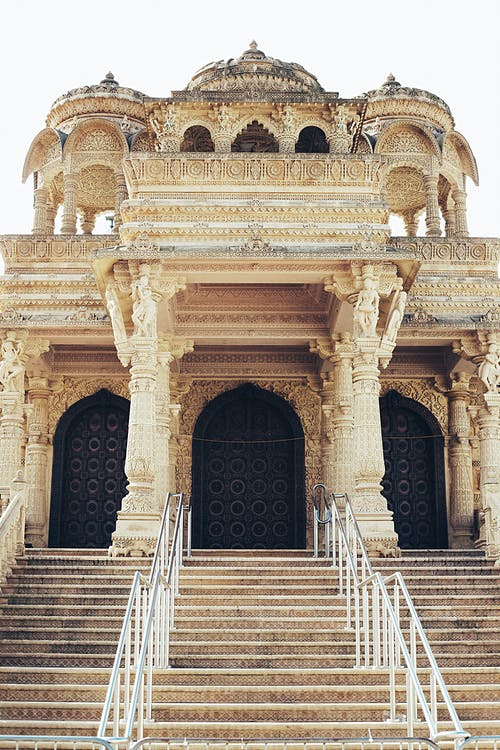 arkkitehdin suunnitelma, hindu-temppeli, Klassinen