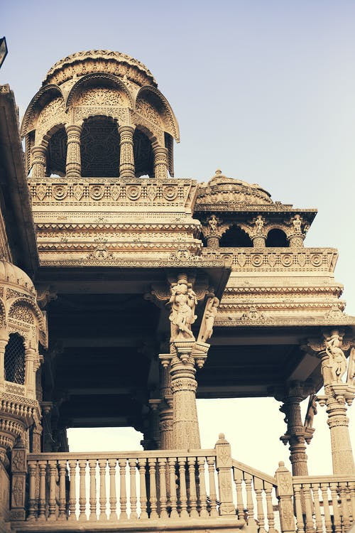 architektonický dizajn, chrám, hinduistický chrám