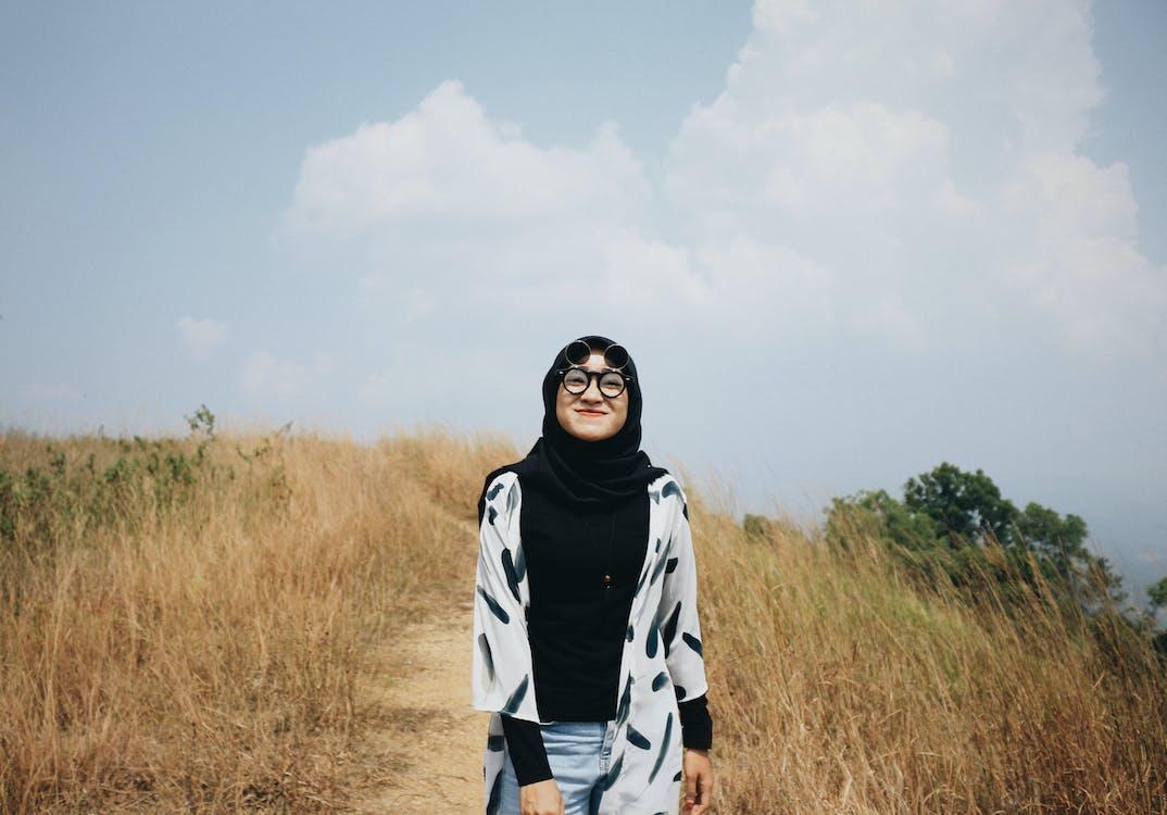 イスラム教徒, カジュアルウェアー, きれいな女性