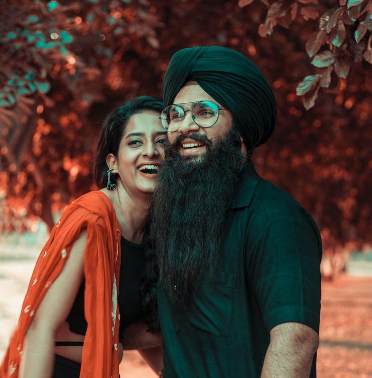 brada, fúzy, indický ľud