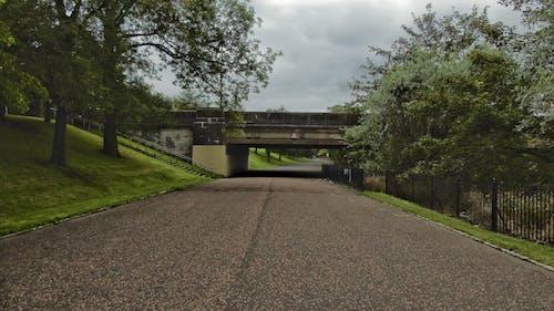 Free stock photo of bridge, park, road