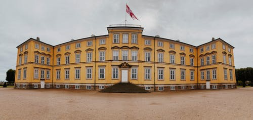 Photos gratuites de château, danemark, europe, panorama
