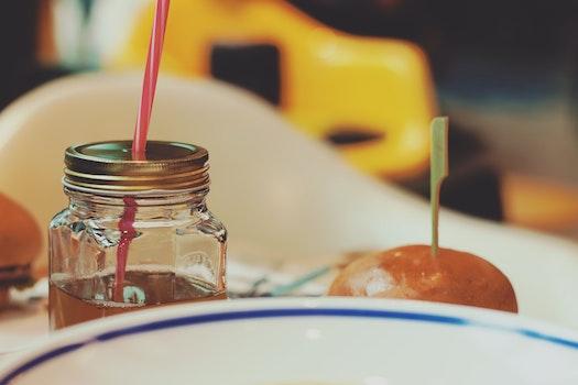 Free stock photo of food, plate, mug, dinner