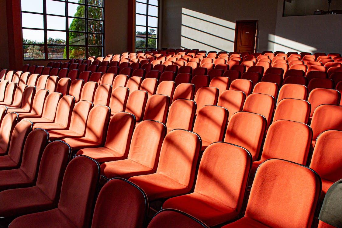 auditorium, bleicher, drinnen
