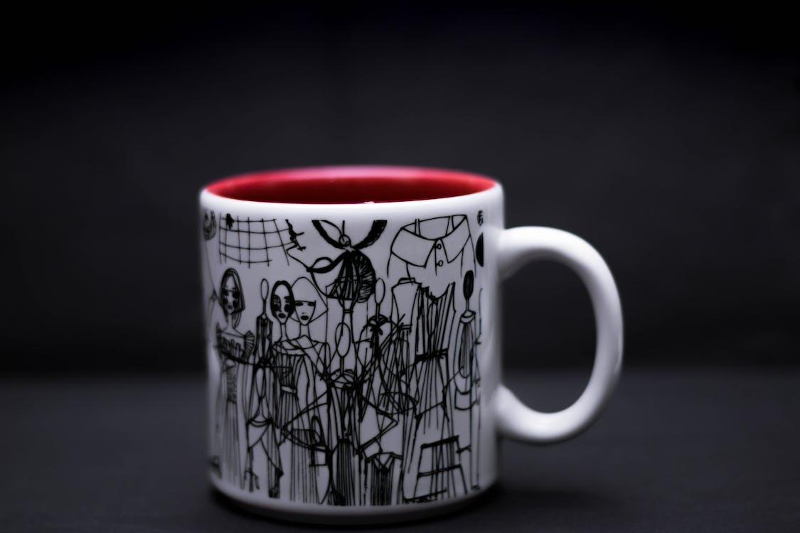 gros plan, mug, tasse