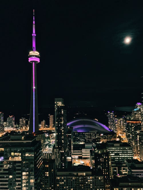 Free stock photo of canada, city, cn tower