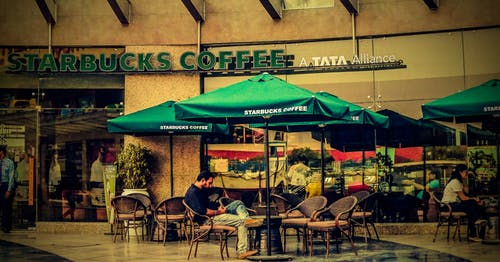 Immagine gratuita di all'aperto, caffè, caffè macinato, caffè nero