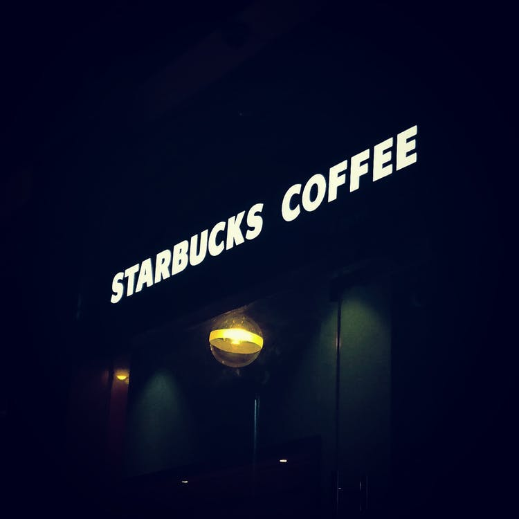 Starbucks, กาแฟ, มืด