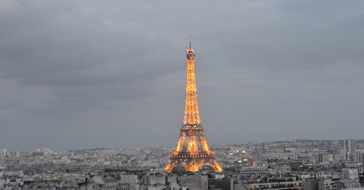 Эйфелева башня вид сверху фото последних