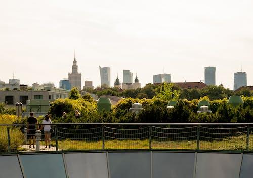 Foto d'estoc gratuïta de bonic capvespre, Europa, eveningsun, Varsòvia